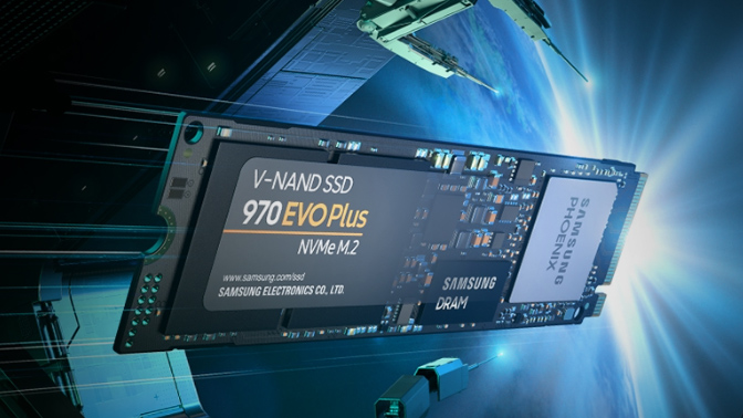 Samsung 970 EVO plus gaming